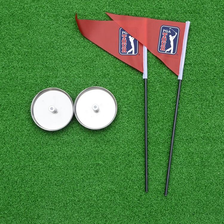 PGA TOUR 'Augusta' Golf Deluxe Putting Mat Flag