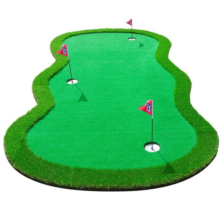 PGA TOUR Extra Large Golf Putting Mat Green