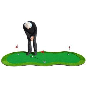 PGA TOUR 'Augusta' Golf Deluxe Putting Mat Golfer