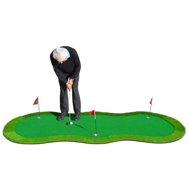 PGA TOUR 'Augusta' Golf Deluxe Putting Mat Golfer