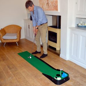 PGA TOUR Indoor & Outdoor Putting Matt at Home