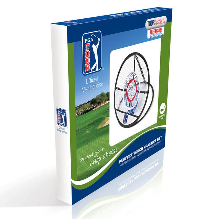 PGA TOUR Perfect Touch Practice Net Packaging