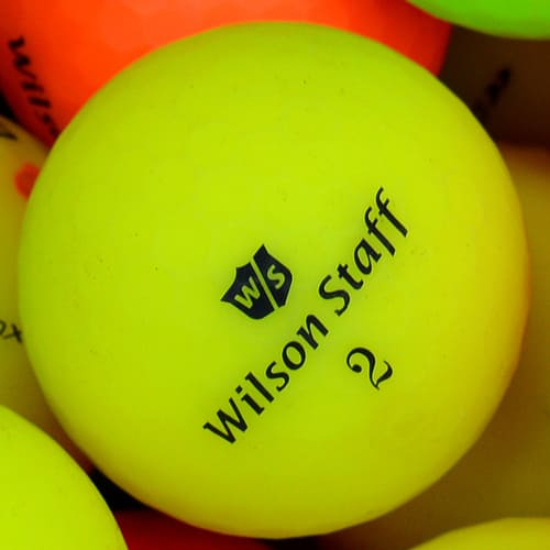 Wilson Matte Optic Lake Ball