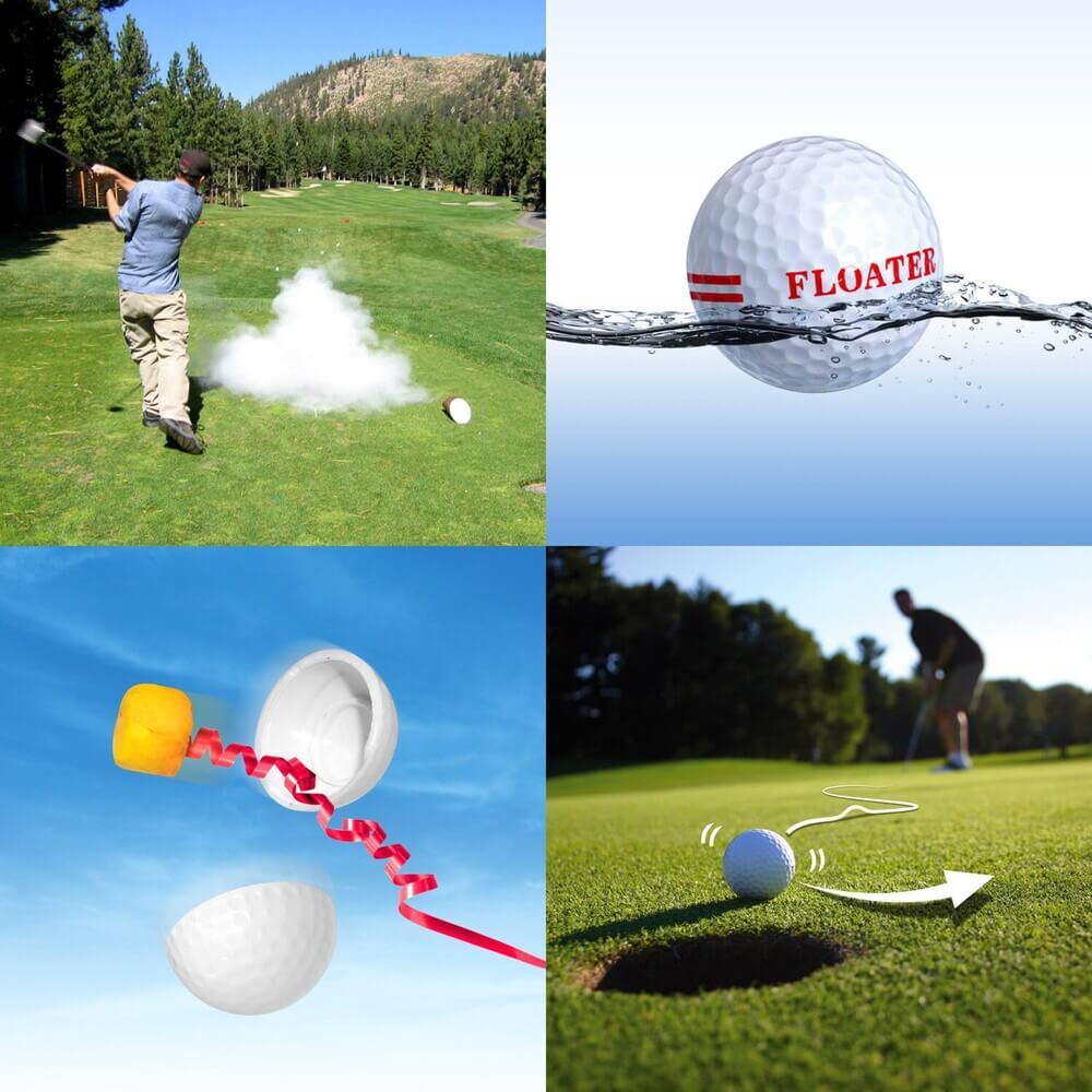 Joke Golf Balls All Four