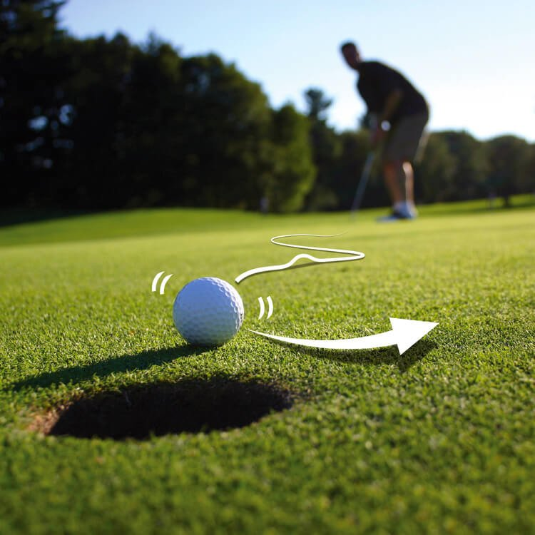 Joke Golf Balls Unputtaball
