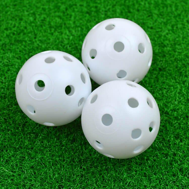 PGA TOUR Air Flow Golf Balls 3 Balls Grass