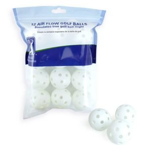 PGA TOUR Air Flow Golf Balls with Balls