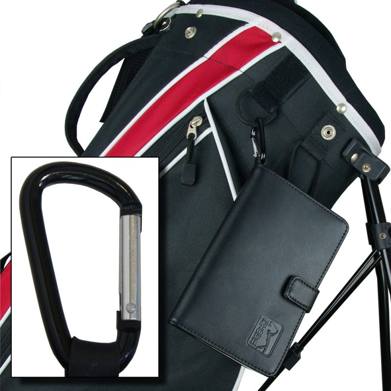 PGA TOUR Leather Scorecard On Bag