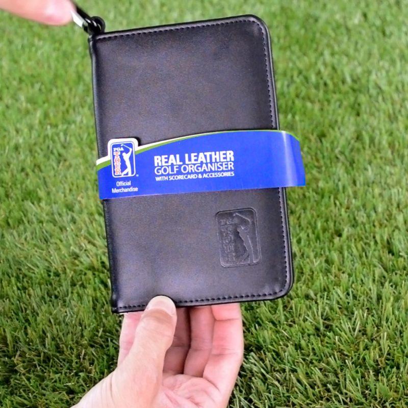 PGA TOUR Leather Scorecard Packaging