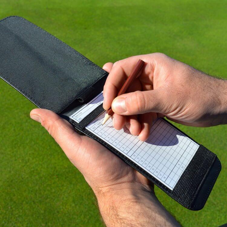 PGA TOUR Scorecard Holder Writing