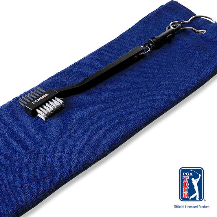 PGA Tour Golf Towel and Brush Set Brush