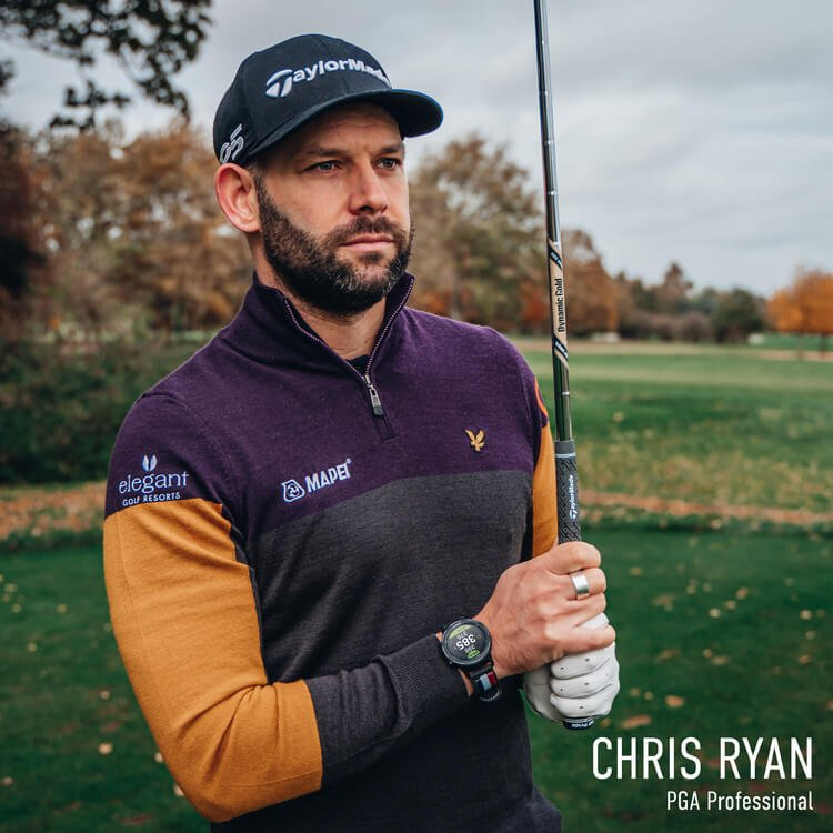 GOLFBUDDY aim W10 Chris Ryan