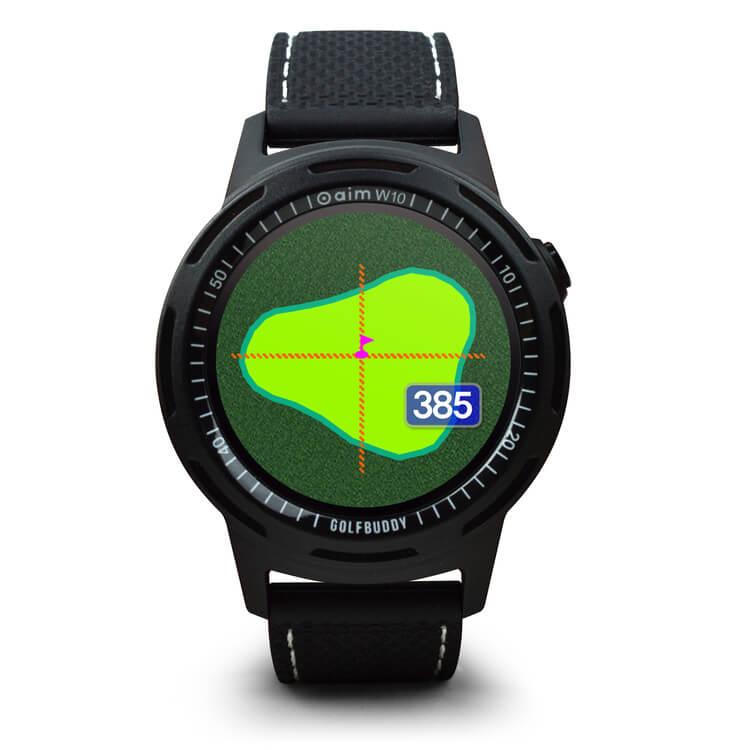 GOLFBUDDY aim W10 Golf Green
