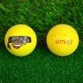 Emoji Novelty Golf Balls (Pack of 6) Bandit