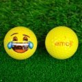 Emoji Novelty Golf Balls (Pack of 6) Cry with Laughter