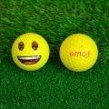 Emoji Novelty Golf Balls (Pack of 6) Smile