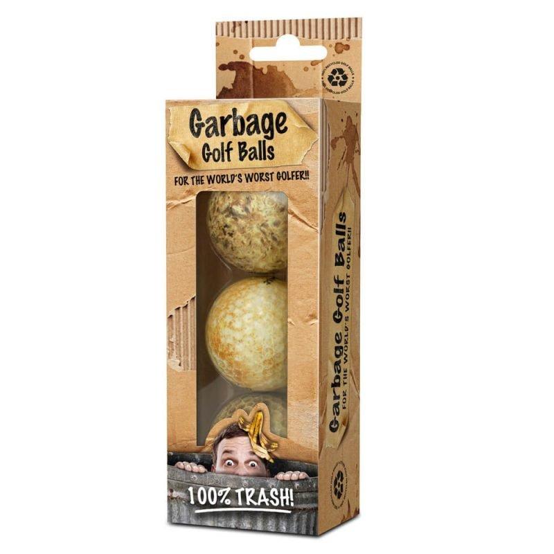 On Par Garbage Golf Balls 3 Pack
