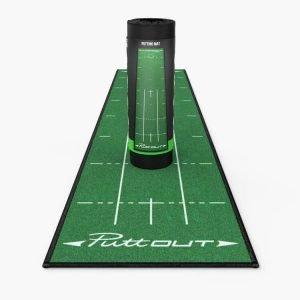 PuttOUT Medium Pro Putting Mat Green Packaging