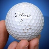 Golf Ball Grading Guide Very Good