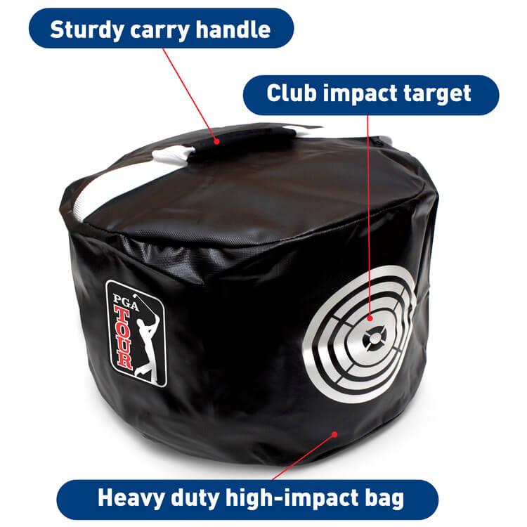 PGA TOUR Club Impact Golf Training Bag Specifactions