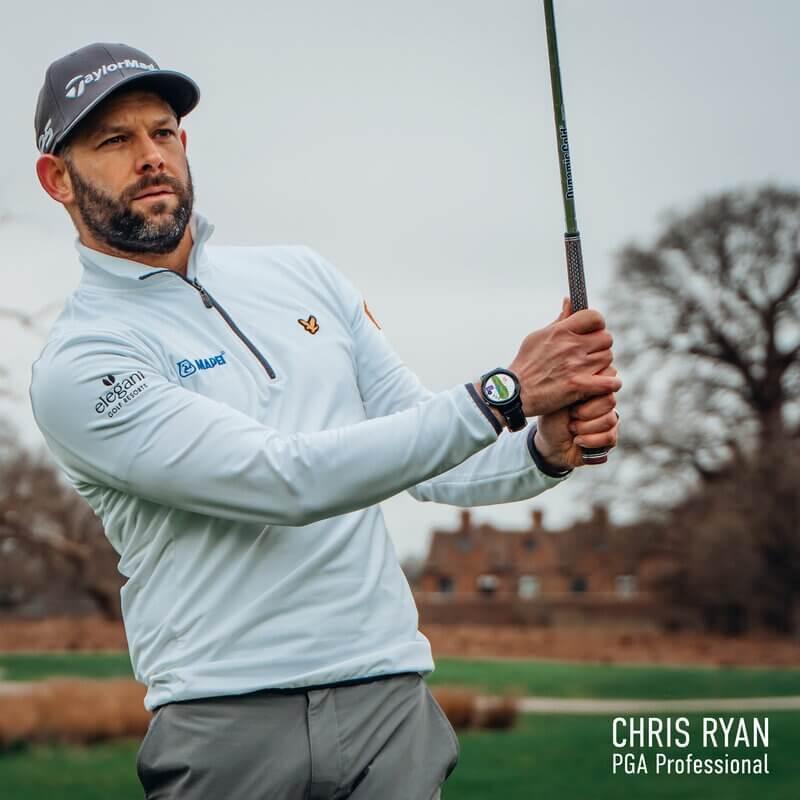 Chris Ryan GOLFBUDDY aim W11 Lifestyle