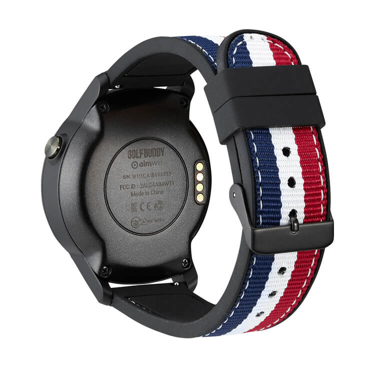 GOLFBUDDY aim W11 GPS Watch Back