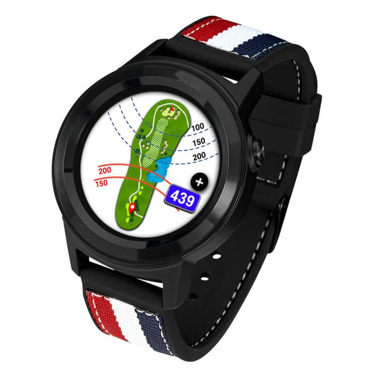 GOLFBUDDY aim W11 GPS Watch Hole View