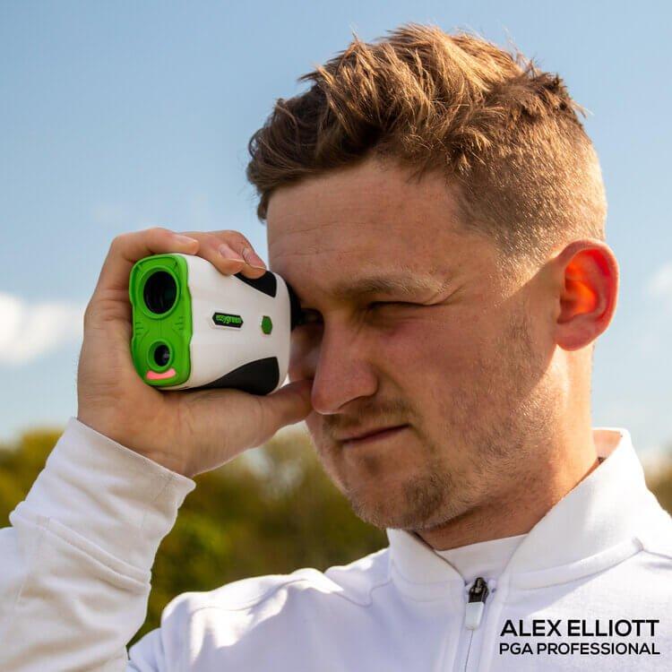 Easygreen OLED Pro Rangefinder Alex Elliott PGA Professional