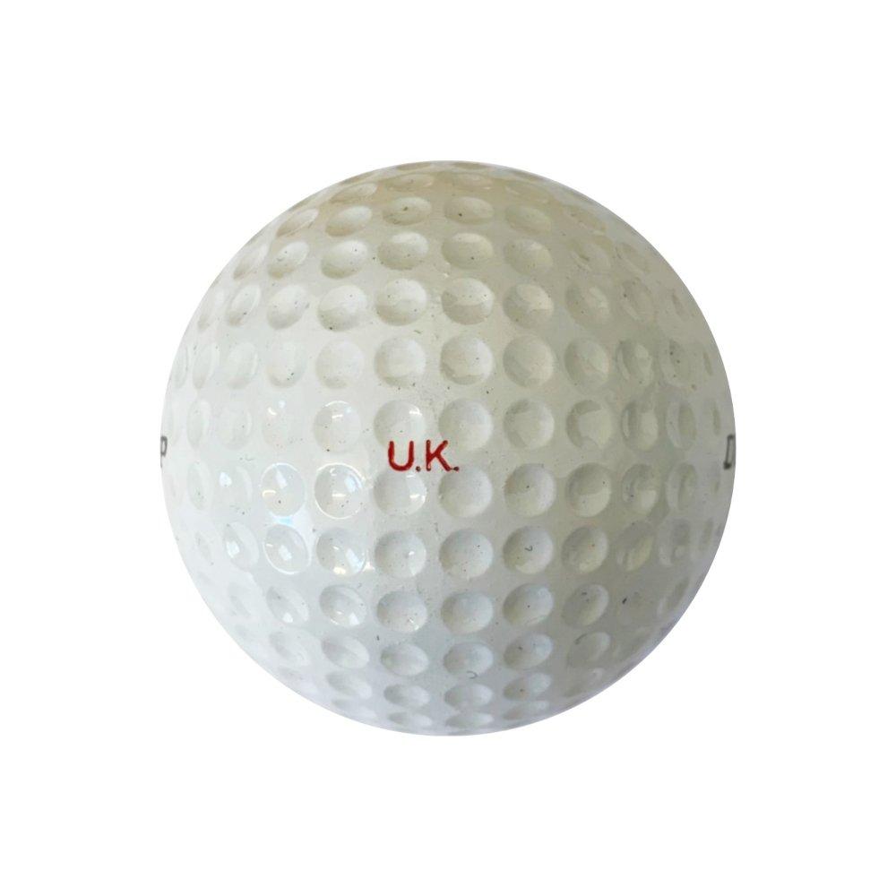 Dunlop 65 Golf Ball Left Side