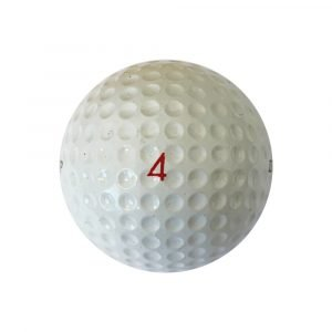 Dunlop 65 Golf Ball Right Side