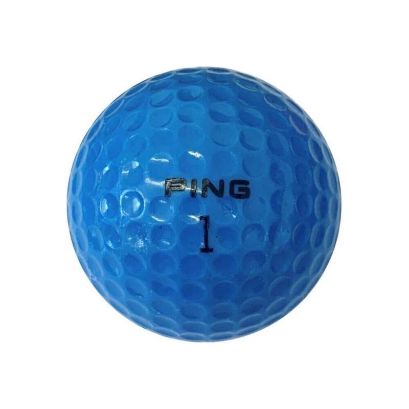 Ping Blue & White Golf Ball Back
