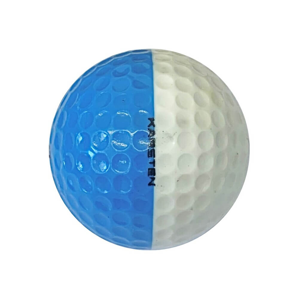 Ping Blue & White Golf Ball Right Side