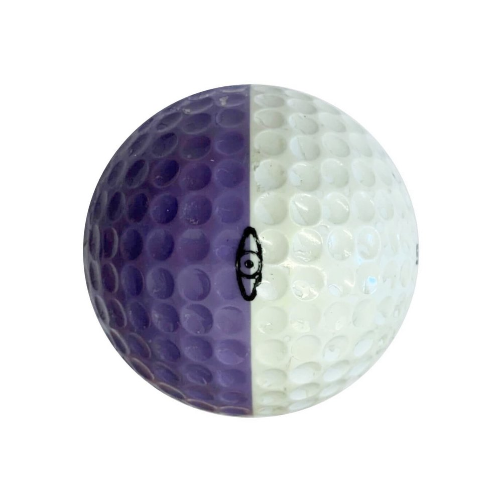 Ping Golf Ball Purple and White