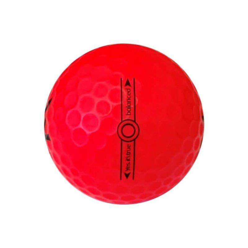 Zen Bold III Golf Ball Red Left Side