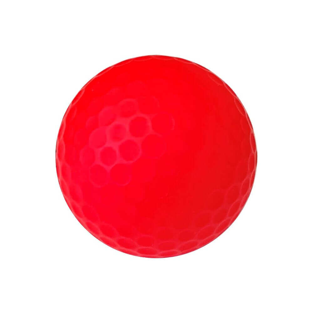 Zen Bold III Golf Ball Red Right Side