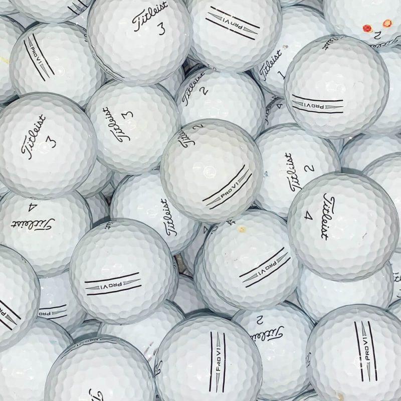 Titleist Pro V1 AIM & V1x AIM Lake Balls