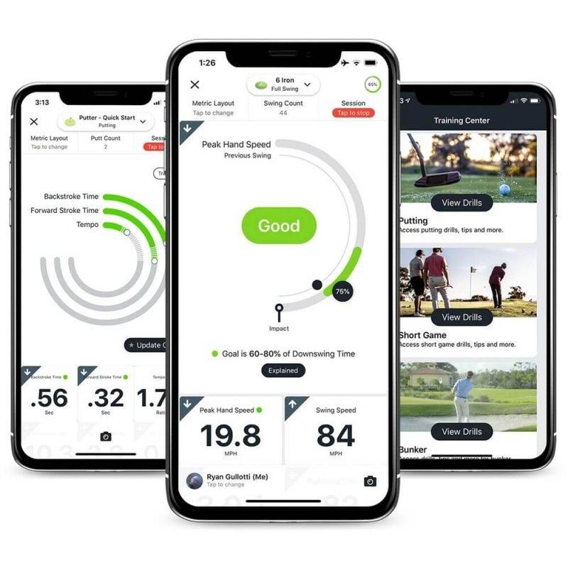 Blast Motion Golf Instant Feedback App