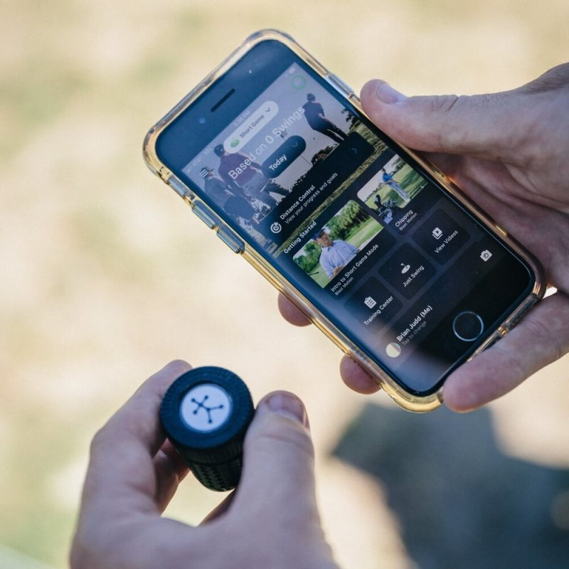 Blast Motion Golf Sensor and App