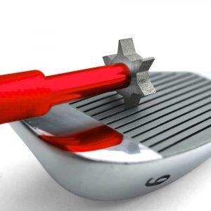 Groove Sharpener Red Iron