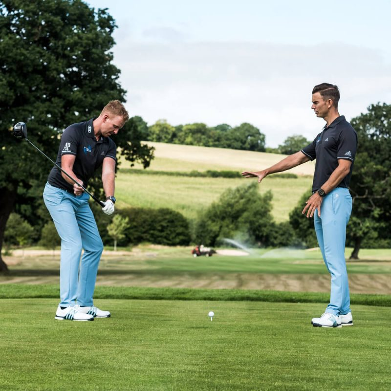 Me and My Golf Total Driving Coaching Plan Tee Shots