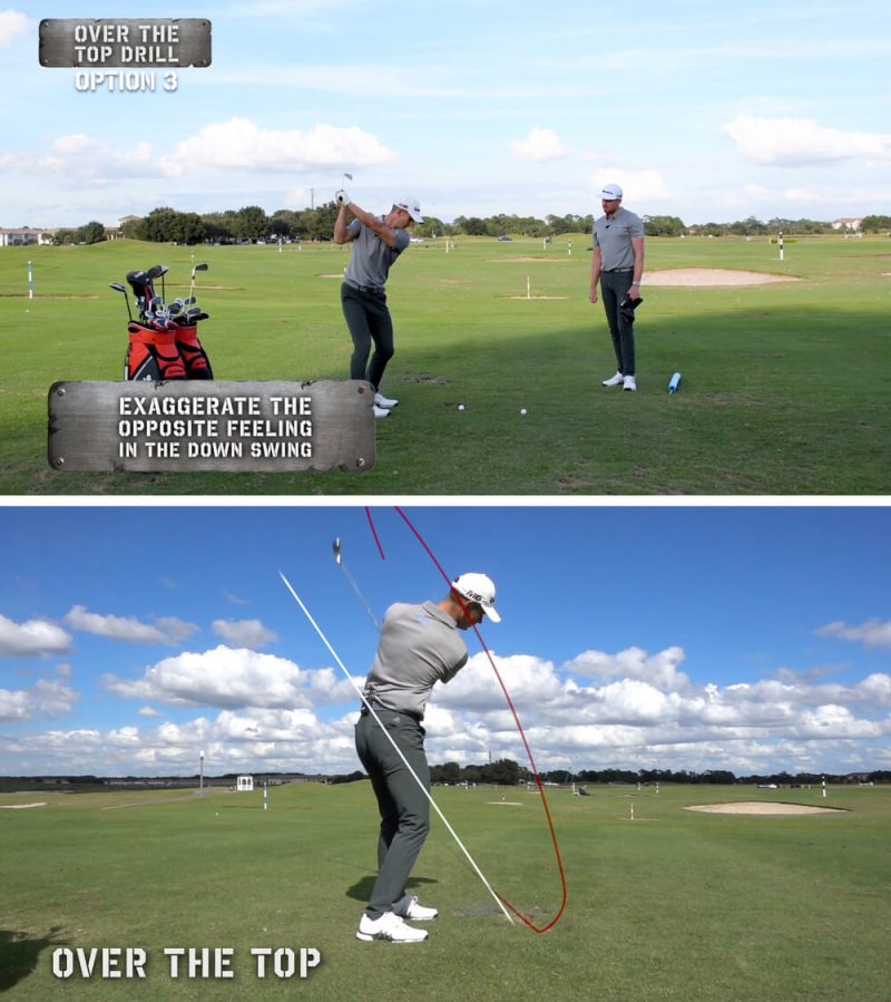 Me and My Golf Ultimate Irons Coaching Plan Over the Top