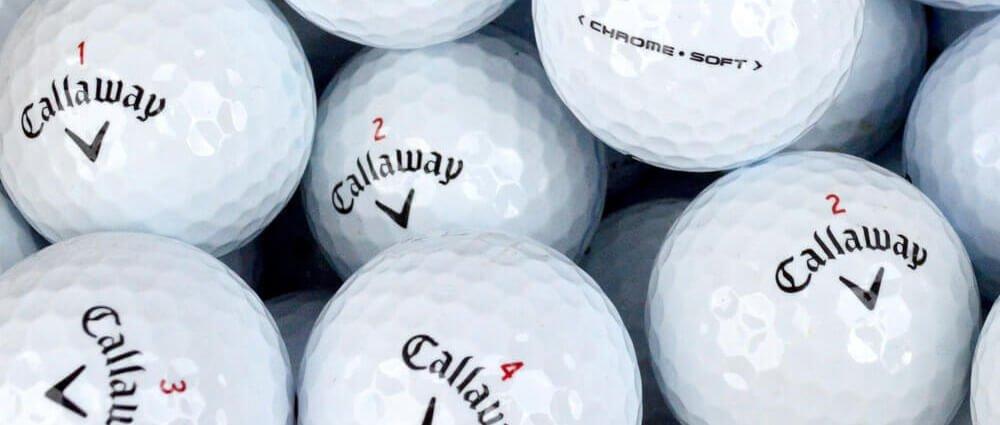 Callaway ChromeSoft Lake Balls Thin