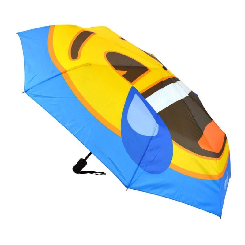 Emoji Crying with Laughter Compact Umbrella