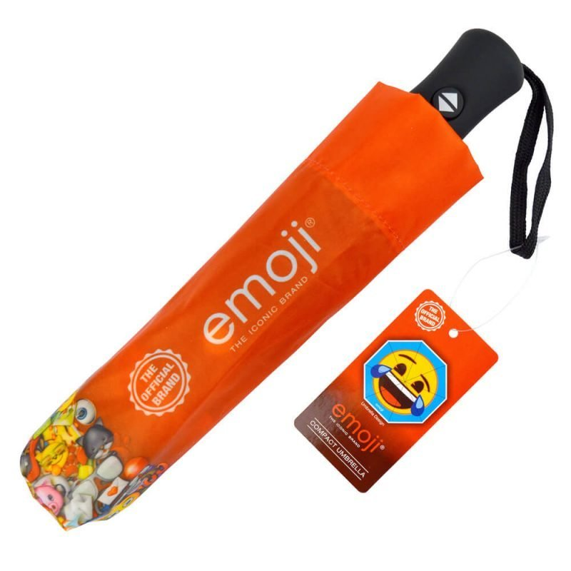Emoji Crying with Laughter Compact Umbrella Cover