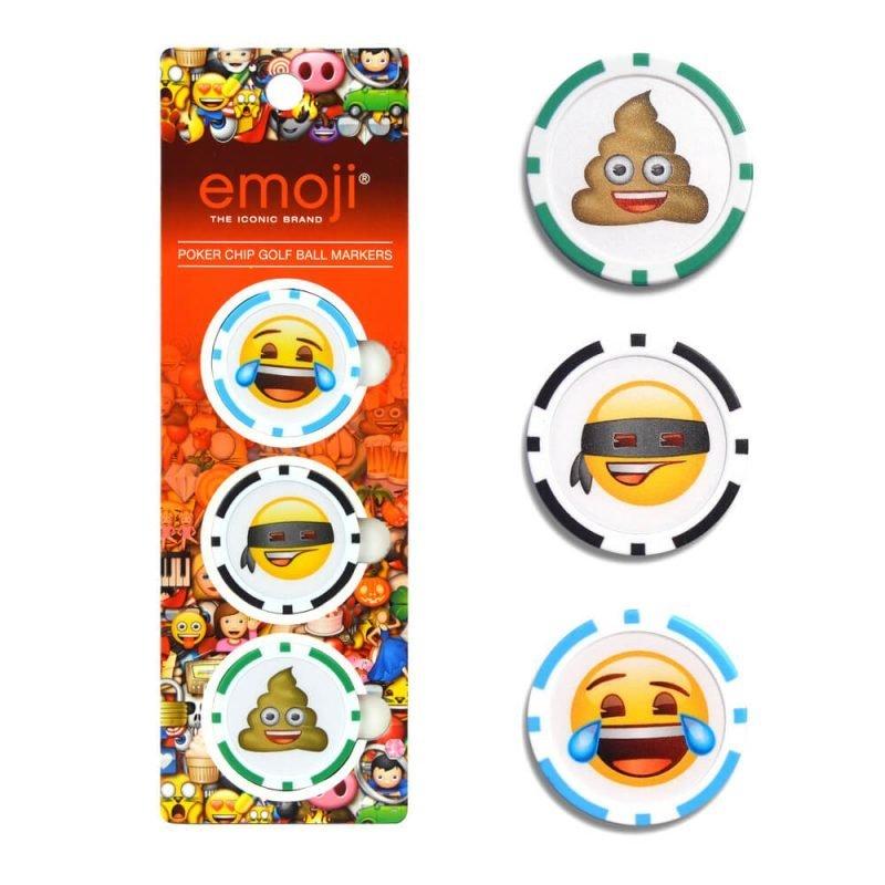 Emoji Poker Chip Ball Markers