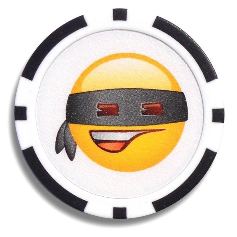 Emoji Poker Chip Ball Markers Bandit