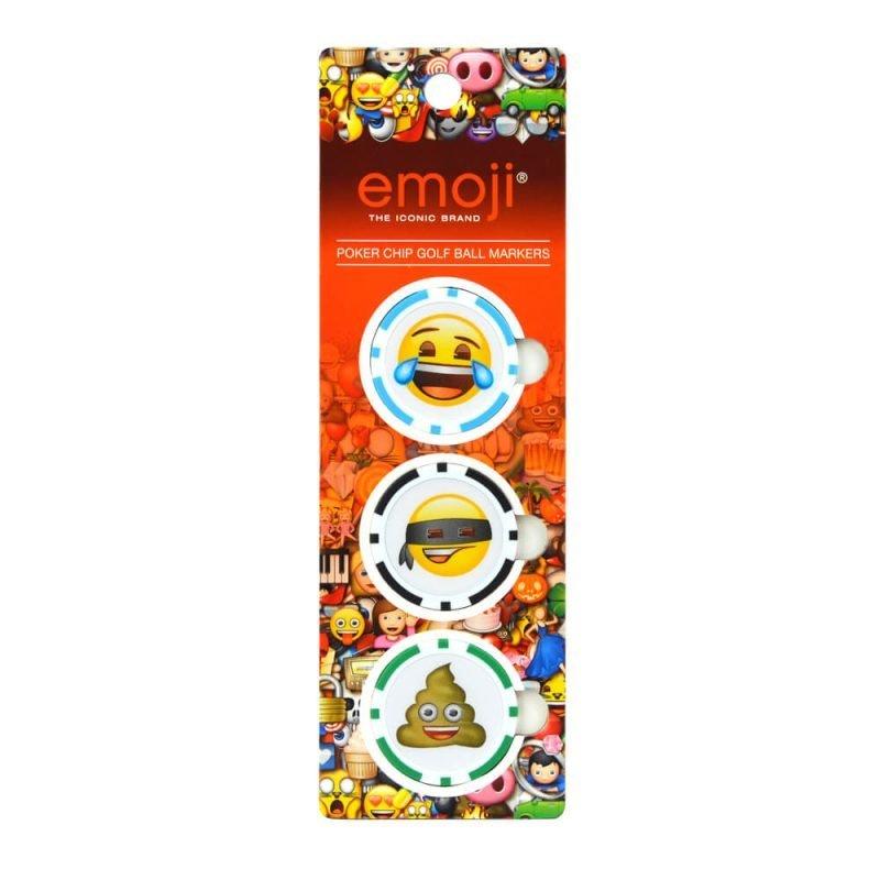 Emoji Poker Chip Ball Markers Packaging