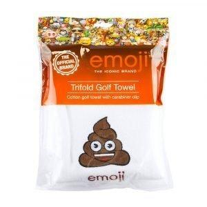 Emoji Poop Golf Towel Packaging