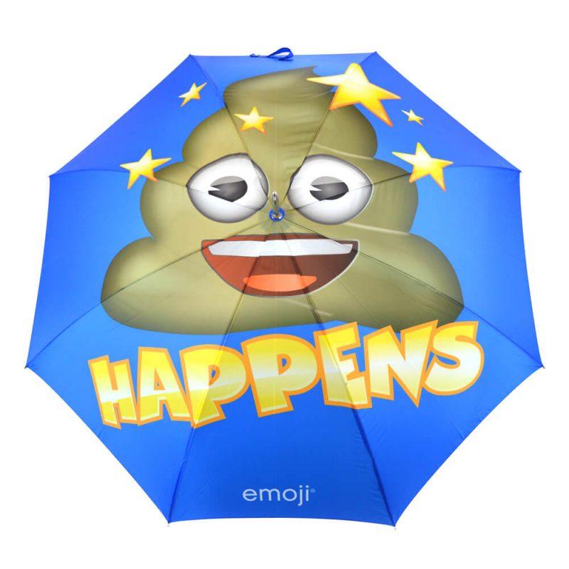 Emoji Poop Happens Umbrella Top
