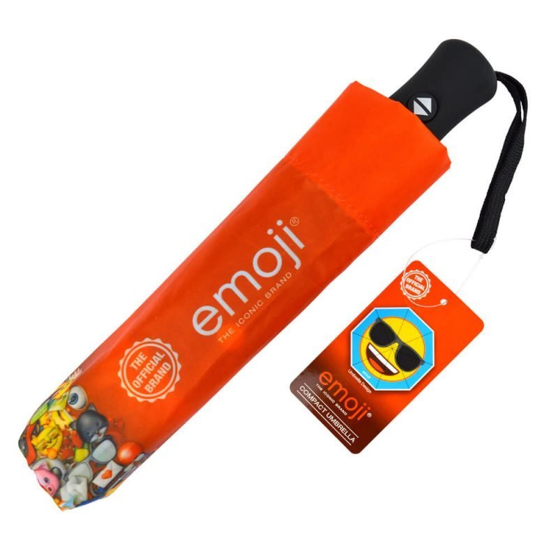 Emoji Sunglasses Compact Umbrella Cover